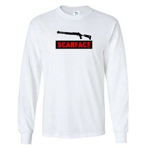 Youth Kids SCARFACE T-Shirt Long Sleeve
